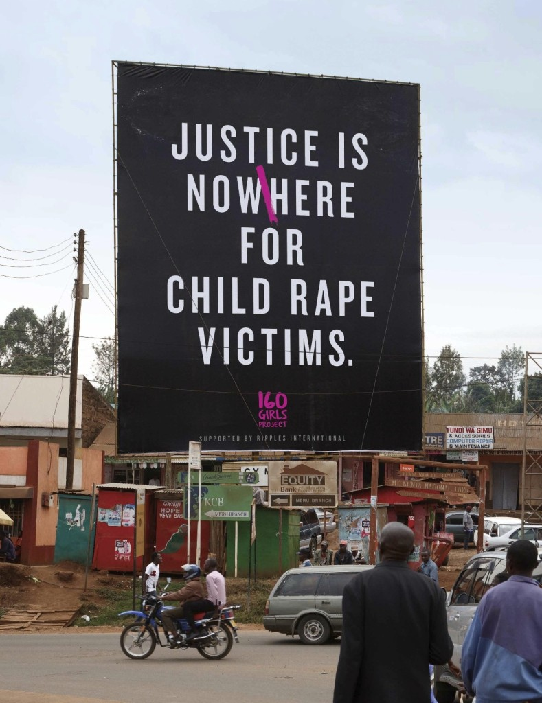 160 girls project - justice for defiled girls in Kenya
